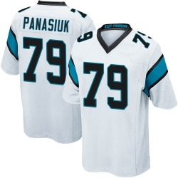 Mike Panasiuk Carolina Panthers Game Men's Jersey (White)