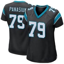 Mike Panasiuk Carolina Panthers Game Women's Team Color Jersey (Black)