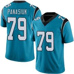 Mike Panasiuk Carolina Panthers Limited Men's Alternate Vapor Untouchable Jersey (Blue)
