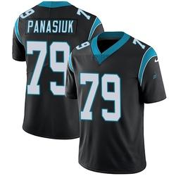 Mike Panasiuk Carolina Panthers Limited Youth Team Color Vapor Untouchable Jersey (Black)