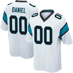 Mikey Daniel Carolina Panthers Game Youth Jersey (White)