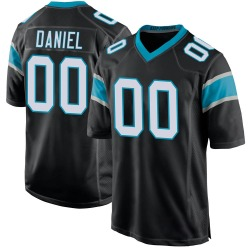 Mikey Daniel Carolina Panthers Game Youth Team Color Jersey (Black)