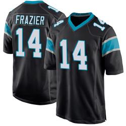 Mose Frazier Carolina Panthers Game Men's Team Color Jersey (Black)
