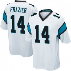 Mose Frazier Carolina Panthers Game Youth Jersey (White)