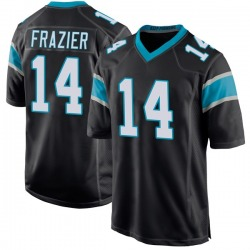 Mose Frazier Carolina Panthers Game Youth Team Color Jersey (Black)