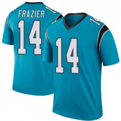 Mose Frazier Carolina Panthers Legend Youth Color Rush Jersey (Blue)