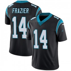 Mose Frazier Carolina Panthers Limited Youth Team Color Vapor Untouchable Jersey (Black)