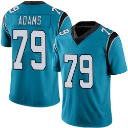 Myles Adams Carolina Panthers Limited Men's Alternate Vapor Untouchable Jersey (Blue)