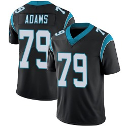 Myles Adams Carolina Panthers Limited Men's Team Color Vapor Untouchable Jersey (Black)