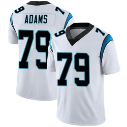 Myles Adams Carolina Panthers Limited Men's Vapor Untouchable Jersey (White)
