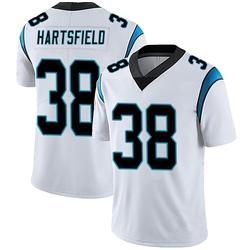 Myles Hartsfield Carolina Panthers Limited Men's Vapor Untouchable Jersey (White)