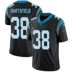 Myles Hartsfield Carolina Panthers Limited Youth Team Color Vapor Untouchable Jersey (Black)