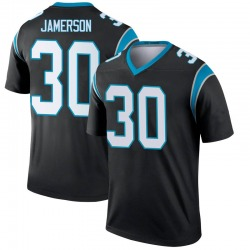 Natrell Jamerson Carolina Panthers Legend Youth Jersey (Black)