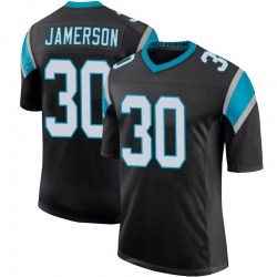 Natrell Jamerson Carolina Panthers Limited Men's Team Color 100th Vapor Untouchable Jersey (Black)