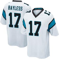 Omar Bayless Carolina Panthers Game Men's Jersey (White)