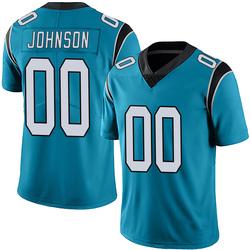 PJ Johnson Carolina Panthers Limited Men's Alternate Vapor Untouchable Jersey (Blue)