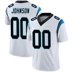 PJ Johnson Carolina Panthers Limited Men's Vapor Untouchable Jersey (White)