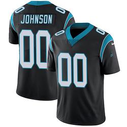 PJ Johnson Carolina Panthers Limited Youth Team Color Vapor Untouchable Jersey (Black)