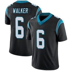 P.J. Walker Carolina Panthers Limited Men's Team Color Vapor Untouchable Jersey (Black)