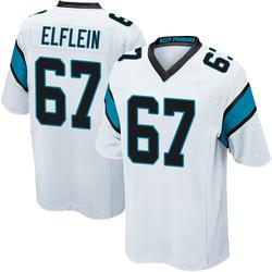 Pat Elflein Carolina Panthers Game Men's Jersey (White)