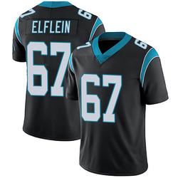 Pat Elflein Carolina Panthers Limited Men's Team Color Vapor Untouchable Jersey (Black)