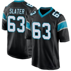 Pearce Slater Carolina Panthers Game Youth Team Color Jersey (Black)