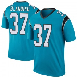 Quin Blanding Carolina Panthers Legend Men's Color Rush Jersey (Blue)