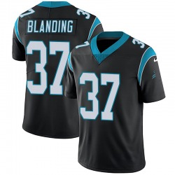 Quin Blanding Carolina Panthers Limited Youth Team Color Vapor Untouchable Jersey (Black)