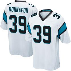 Reggie Bonnafon Carolina Panthers Game Youth Jersey (White)