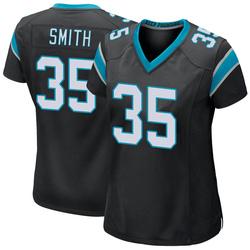 Rodney Smith Carolina Panthers Game Women's Team Color Jersey (Black)