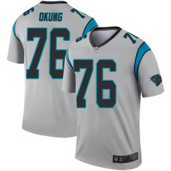 Russell Okung Carolina Panthers Legend Youth Inverted Silver Jersey ()