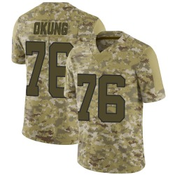 Russell Okung Carolina Panthers Limited Men's 2018 Salute to Service Jersey (Camo)
