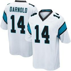 Sam Darnold Carolina Panthers Game Men's Jersey (White)