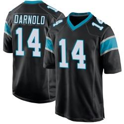 Sam Darnold Carolina Panthers Game Youth Team Color Jersey (Black)