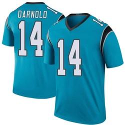 Sam Darnold Carolina Panthers Legend Men's Color Rush Jersey (Blue)