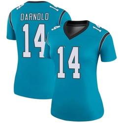 Sam Darnold Carolina Panthers Legend Women's Color Rush Jersey (Blue)