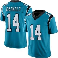 Sam Darnold Carolina Panthers Limited Men's Alternate Vapor Untouchable Jersey (Blue)