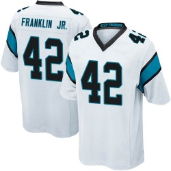 Sam Franklin Carolina Panthers Game Youth Jersey (White)