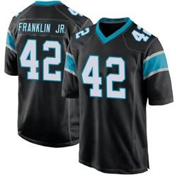 Sam Franklin Carolina Panthers Game Youth Team Color Jersey (Black)