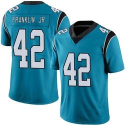 Sam Franklin Carolina Panthers Limited Men's Alternate Vapor Untouchable Jersey (Blue)