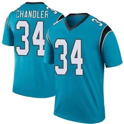 Sean Chandler Carolina Panthers Legend Men's Color Rush Jersey (Blue)