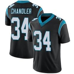 Sean Chandler Carolina Panthers Limited Men's Team Color Vapor Untouchable Jersey (Black)
