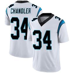 Sean Chandler Carolina Panthers Limited Men's Vapor Untouchable Jersey (White)