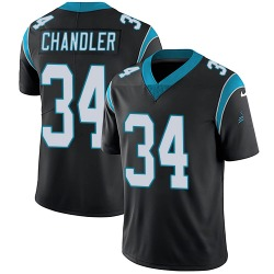 Sean Chandler Carolina Panthers Limited Youth Team Color Vapor Untouchable Jersey (Black)