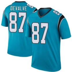 Seth DeValve Carolina Panthers Legend Men's Color Rush Jersey (Blue)
