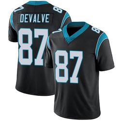 Seth DeValve Carolina Panthers Limited Men's Team Color Vapor Untouchable Jersey (Black)