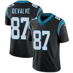 Seth DeValve Carolina Panthers Limited Youth Team Color Vapor Untouchable Jersey (Black)