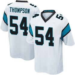 Shaq Thompson Carolina Panthers Game Youth Jersey (White)