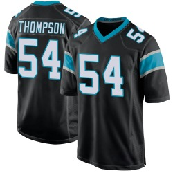 Shaq Thompson Carolina Panthers Game Youth Team Color Jersey (Black)