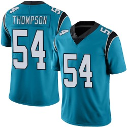 Shaq Thompson Carolina Panthers Limited Men's Alternate Vapor Untouchable Jersey (Blue)